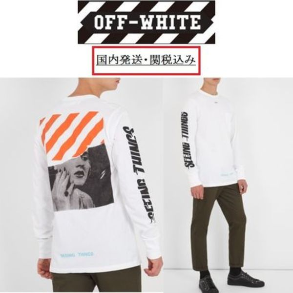 Off-White(オフホワイト)☆SEEING THINGS カットソー/新作