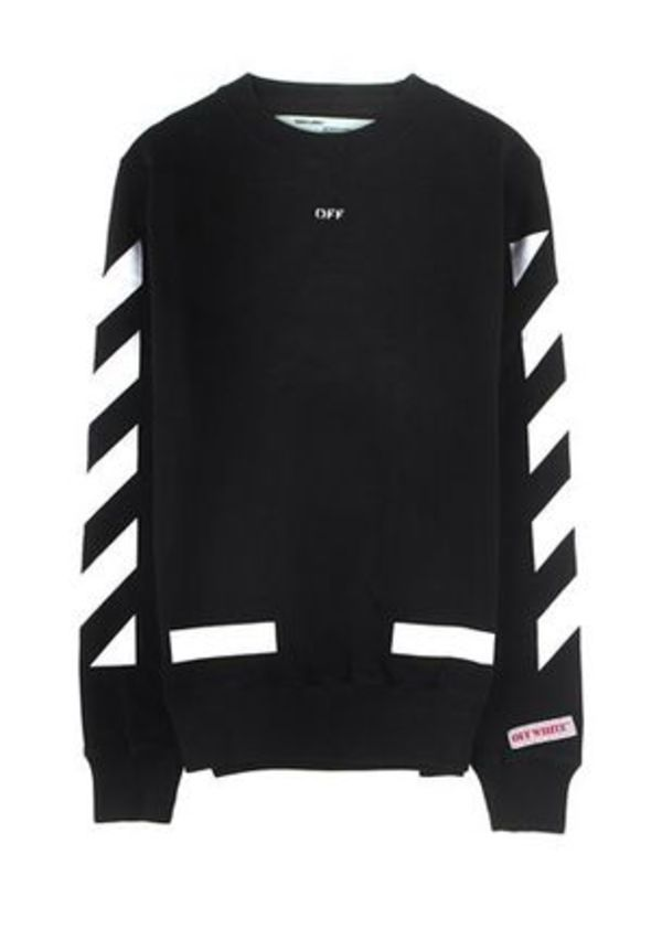 【関税・送料込】Off-White Diagonals Arrows Crew Sweat