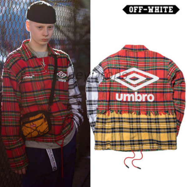 人気★Umbro×Off-Whiteコラボ ★training top Jacket  Sサイズ