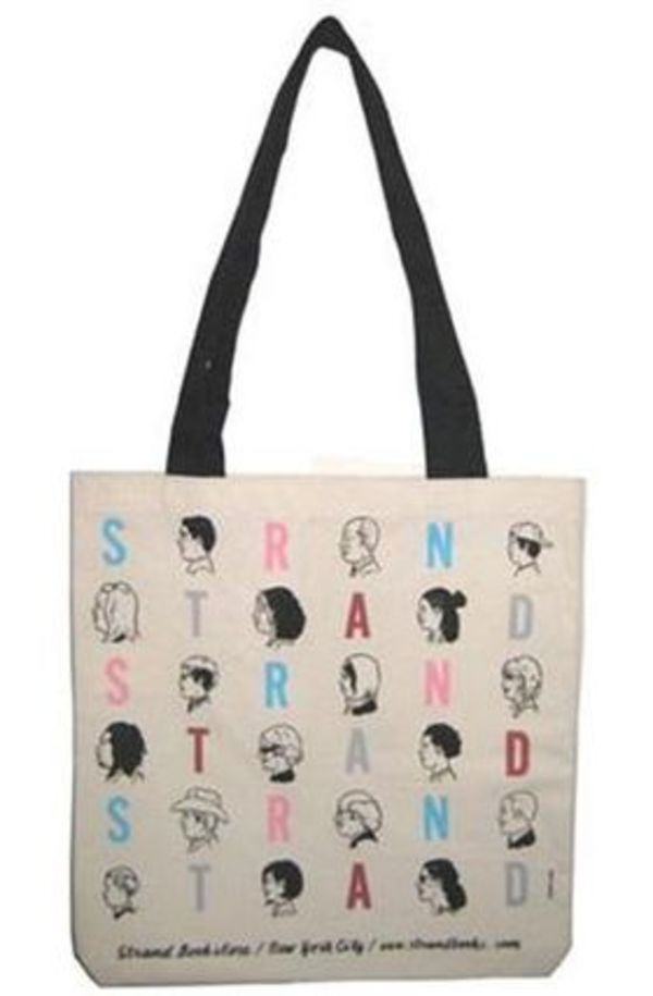 NY人気No.1★送料込み★ STRAND Tote Bag Canvas Adrian Tomine