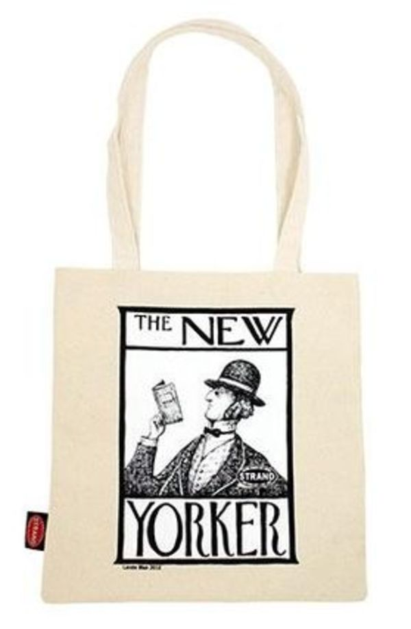 NY人気No.1★送料込み★ STRAND Tote Bag NYer Go Read a Book