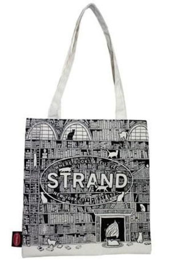 NY人気No.1★送料込み★ STRAND Tote Bag: Nine Lives