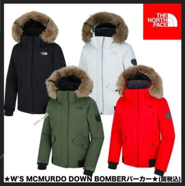 ☆イベント中☆THE NORTH FACE★W'S MCMURDO DOWN BOMBER 4色