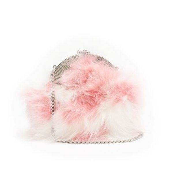 新作♡関税込【MiuMiu】Fox-Fur Shoulder Bag