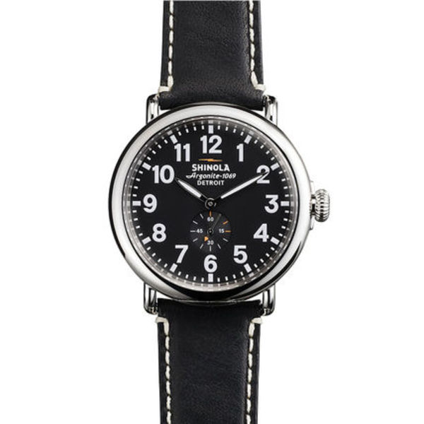 【SHINOLA】メンズウォッチ Runwell Black & Black 47mm