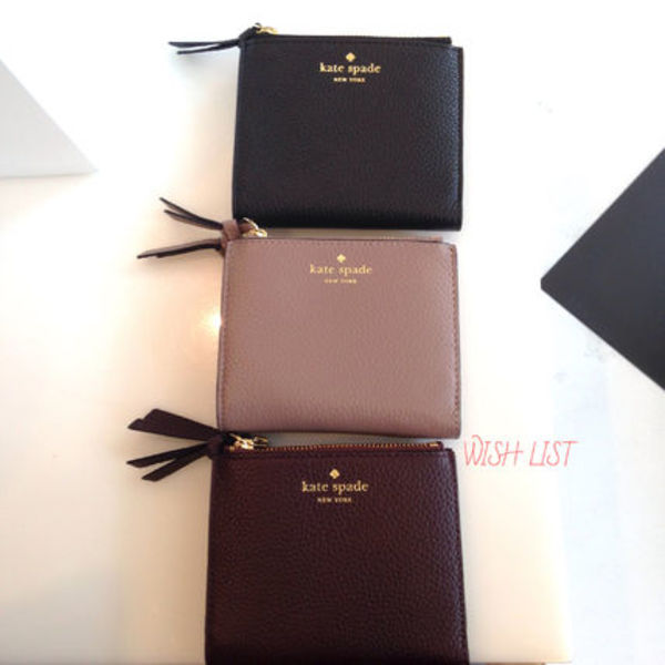 kate spade★SALE!★ small malea mulberry street★ミニ折財布