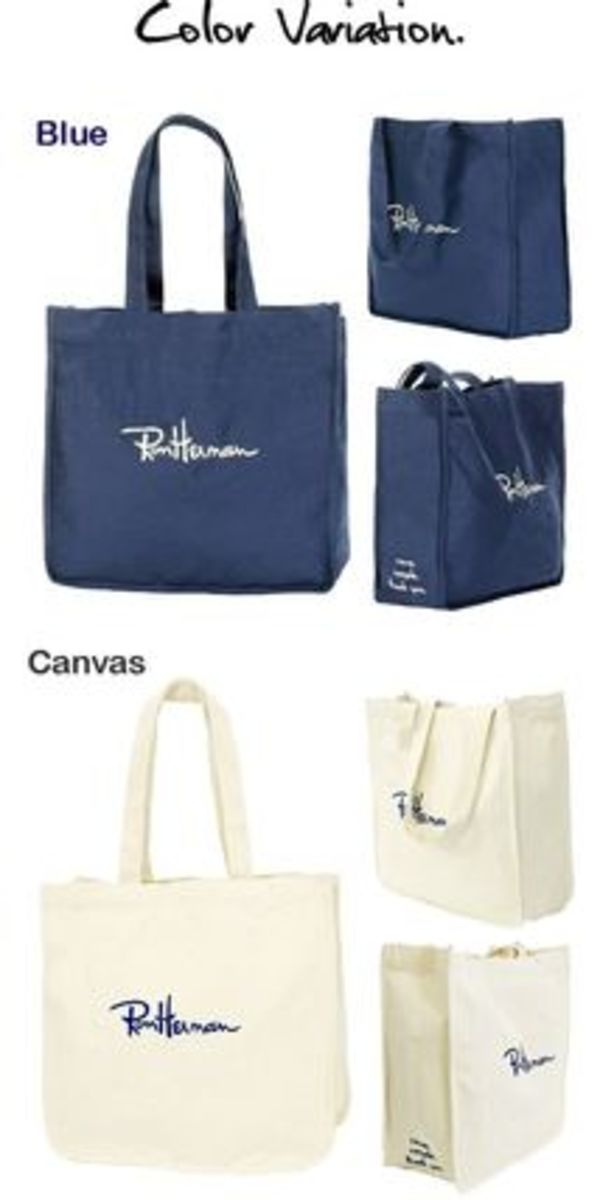 Ron Hermam Exclusive Embroidered Canvas Bag送料込み!