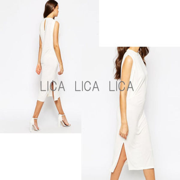 送料無料・国内発送ASOS Tunic Dress With Side Splits