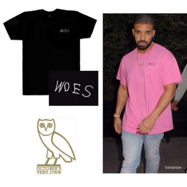 ★日本未上陸★DRAKE愛用 OCTOBER'S VERY OWN★WOES Tシャツ★