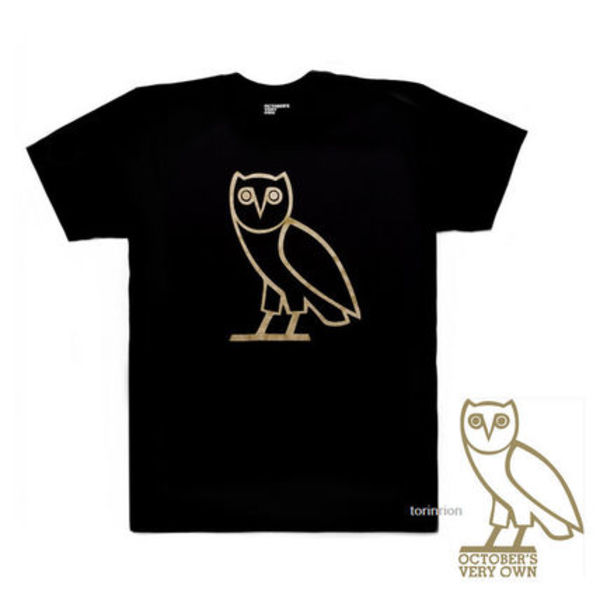 ★日本未上陸★DRAKE OCTOBER'S VERY OWN★CLASSIC OWL TEE★