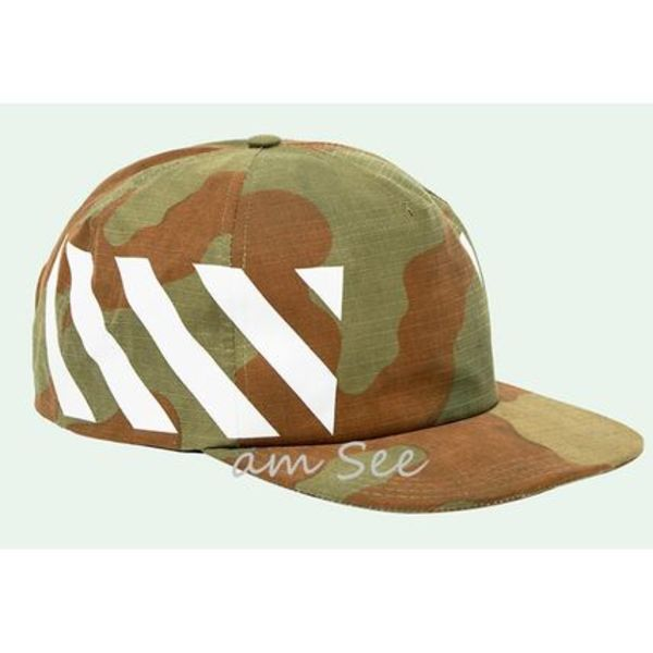 【2017-18AW】Off-White DIAG CAMOU コットン CAP 迷彩