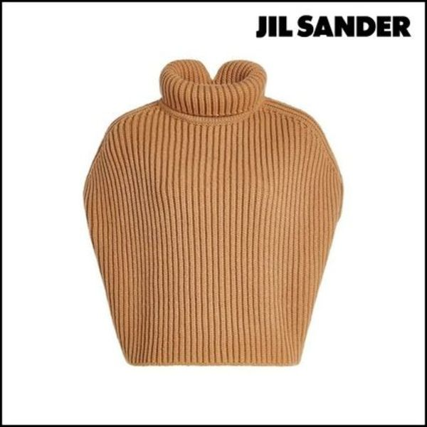 Jil Sander(ジルサンダー)★Turtleneck Pullover w/ Fleece Wool