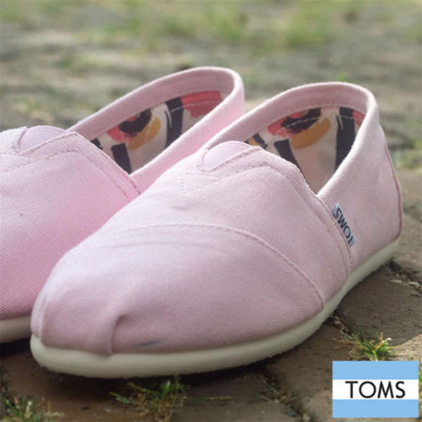 TOMS    PINK ICING CANVAS  フラットシューズ