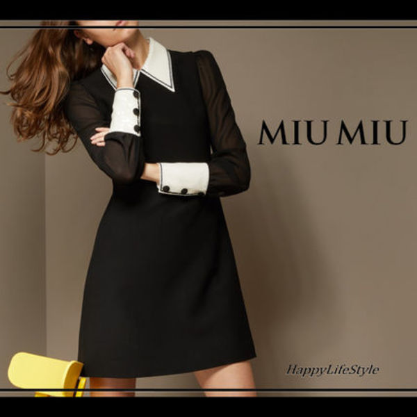 lovely♪◇Sequined Detail ショート ドレス◇MiuMiu