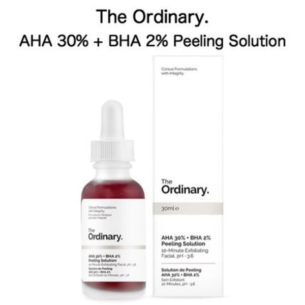 The Ordinary AHA 30% + BHA 2% Peeling Solution 30ml 1個