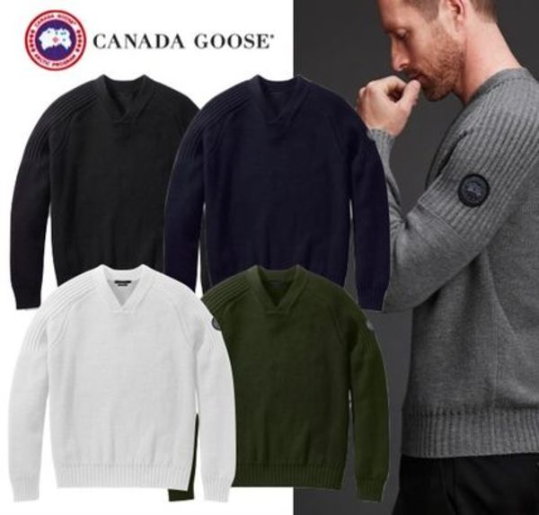*CANADA GOOSE*17AW Black Label Valemount Sweater 多色あり