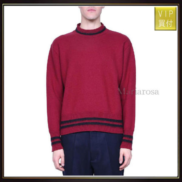 【マルニ】Burgundy Wool Sweater ニット