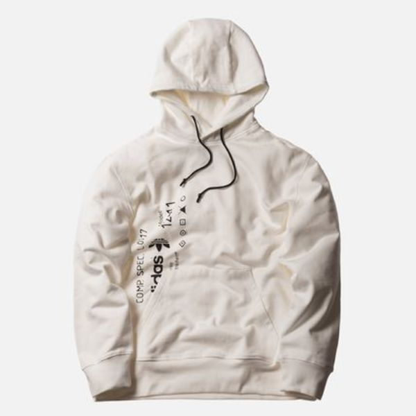 ADIDAS ORIGINALS BY ALEXANDER WANG HOODIE CORE WHITE