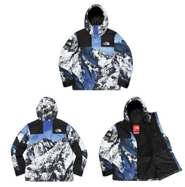SUPREME17FW★The North Face Mountain Parka Jacket