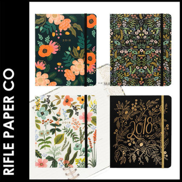 ★3-7日着/追跡&関税込【RIFLE PAPER CO.】COVERED PLANNERS