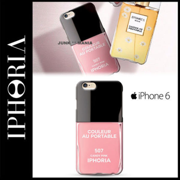 ★【IPHORIA】iPhone6/Candy Pink