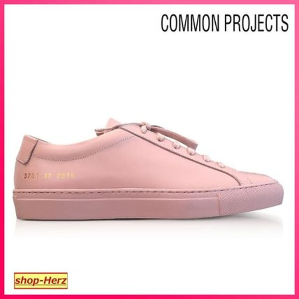 ★Common Projects★ Blush Leather Achilles スニーカー 関税込