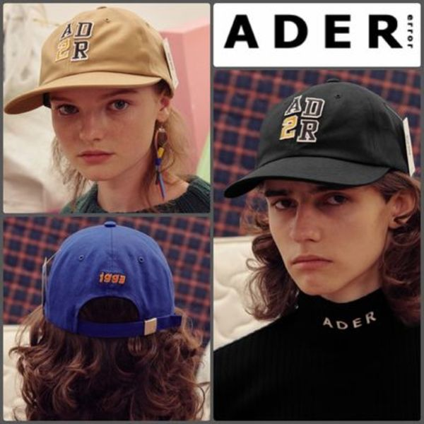 【ADERERROR】正規品★UNISEX NO.ADER cap キャップ 3色/追跡付