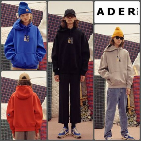 【ADERERROR】正規品★UNISEX Audrey H パーカー 4色/追跡送料込