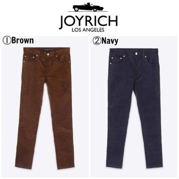 【JOYRICH】☆16AW新作☆Retrofit Corduroy Pants