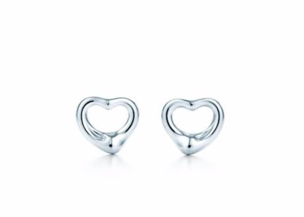 日本よりお求めやすく【Tiffany & Co】OPEN HEART EARRINGS