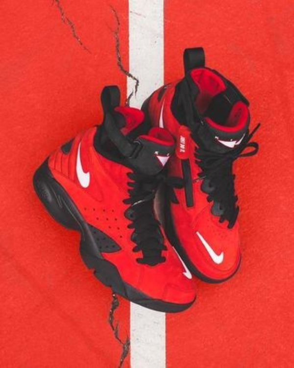 KITH X NIKE AIR MAESTRO II HIGH RED US7.5 手元在庫あり