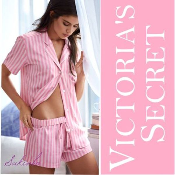 ★日本未入荷NEW★Victoria's Secret Afterhours Satin Boxer PJ