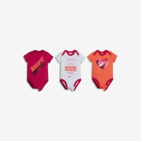 NIKE GRAPHIC THREE-PIECE Infant Bodysuit Set