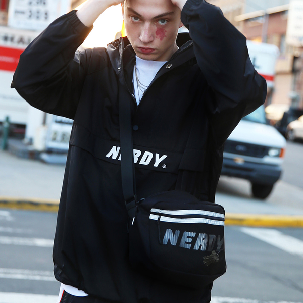 Heavy Anorak Black
