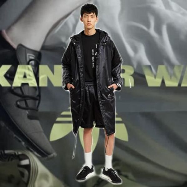 *Alexander Wang*×ADIDAS ORIGINALS STADIUM JACKET BLACK
