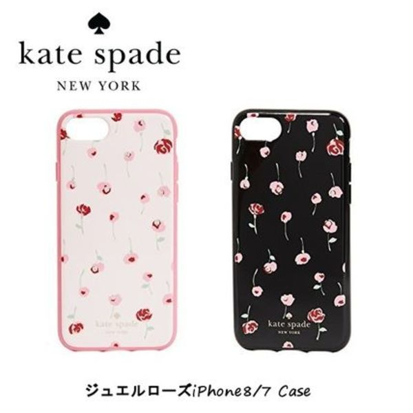 kate spade new york★ジュエル カフェ ローズiPhone8/7 Case