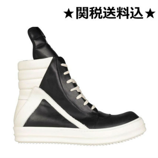 17-18AW RICK OWENS リックオウエンス GEOBASKET SNEAKERS