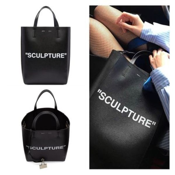 OFF- WHITE Sculpture' New Tote