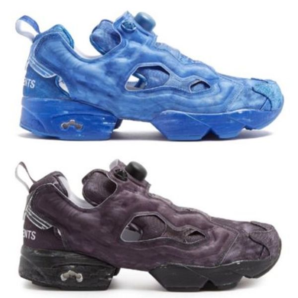 ☆VETEMENTS×X Reebok☆関税込♪NEW♪InstapumpFury スニーカー
