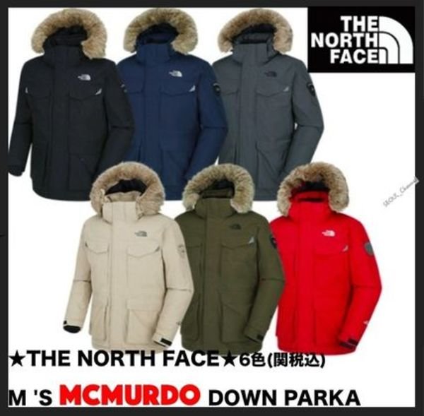 ★イベント/関税込★NORTH FACE★M'S MCMURDO BASE DOWN PARKA