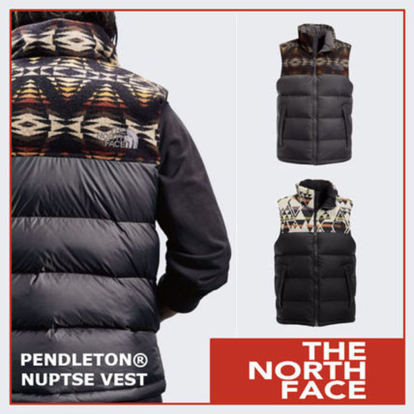 ◆US限定 追跡◆north face × PENDLETON NUPTSE ベスト