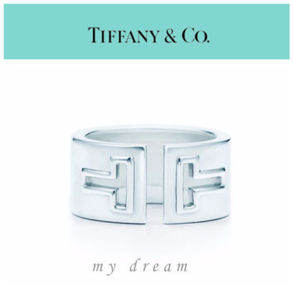 【Tiffany & Co】Tiffany T Cutout Ring in sterling silver