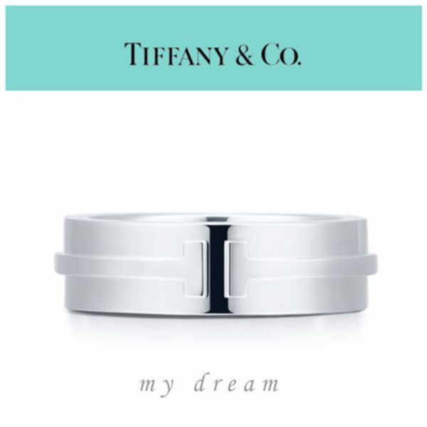 【Tiffany & Co】TIFFANY T TWO RING  in sterling silver