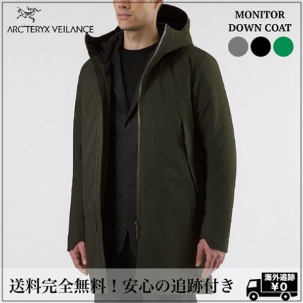 北米限定 追跡有【ARC'TERYXVEILANCE 】MONITOR DOWN COAT