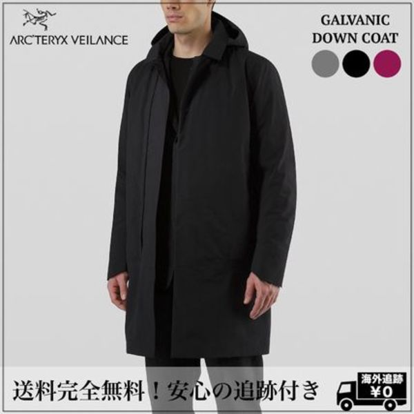 北米限定 追跡有【ARC'TERYXVEILANCE 】GALVANIC DOWN COAT