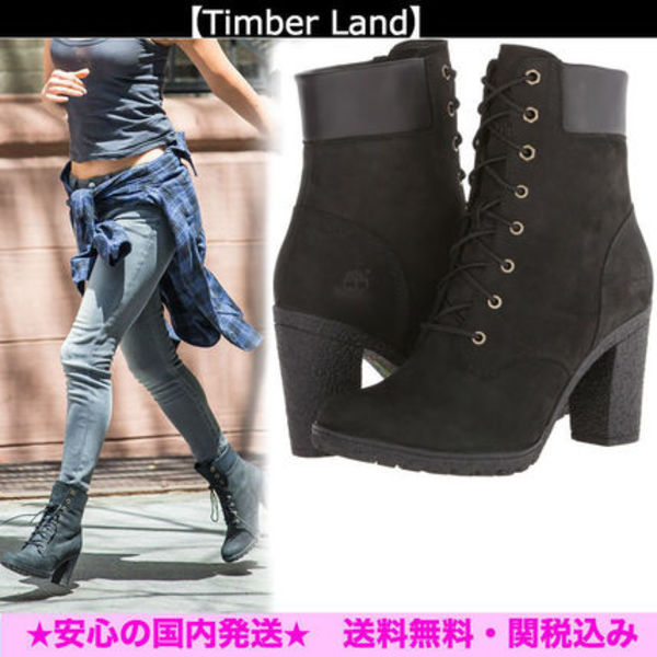 【Timberland】*Earthkeepers Glancy 6*レザーブーツ★Black