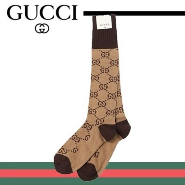 【関税保証】GUCCI(グッチ)☆GG STRETCH COTTON JACQUARD SOCKS