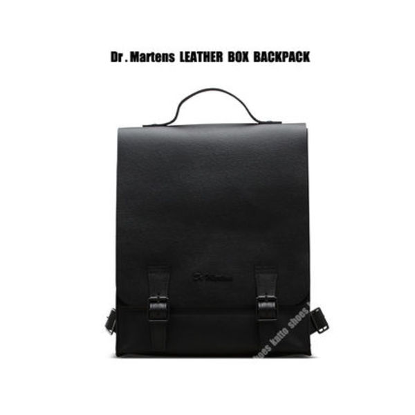 Dr Martens★LEATHER BOX BACKPACK★バックパック★黒