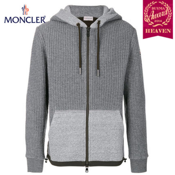 TOPセラー賞受賞!17/18秋冬┃MONCLER★HOODED JACKET_グレー