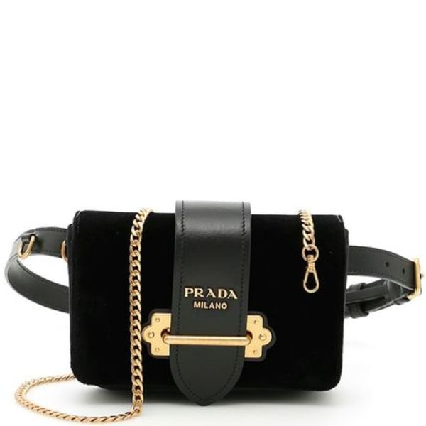 PR606 CAHIER FANNY PACK WITH METAL CHAIN